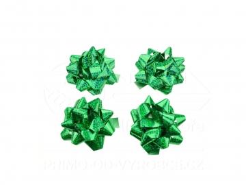 Mašle 4ks v balení zelené