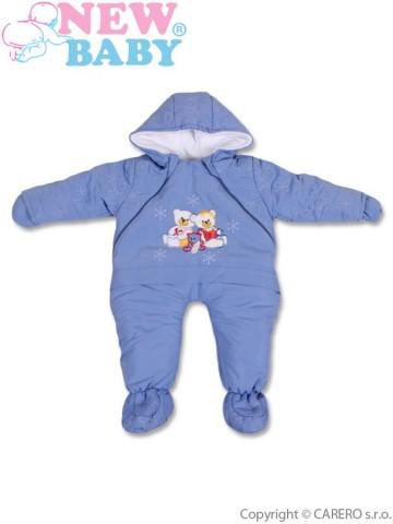 Zimní kombinéza New Baby modrá