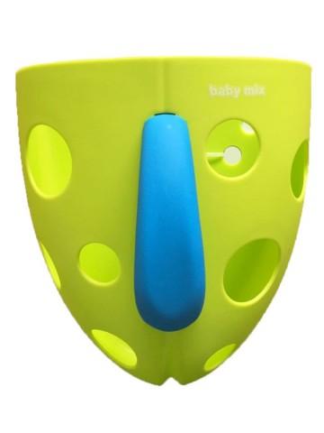 Plastový box na hračky do vany Baby Mix zelený