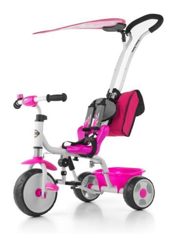 Dětská tříkolka Milly Mally Boby Delux 2015 pink