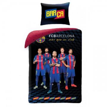 Povlečení Barcelona hráči černé 140/200, 70/90