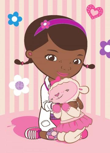 Dětský koberec Doktorka McStuffins Doc a Lambie 95/133