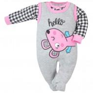 2-részes baba együttes Koala Roar rózsaszín