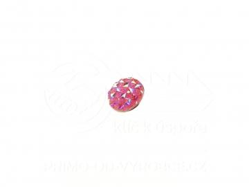 Ozdobný patent na náramek - Růžový