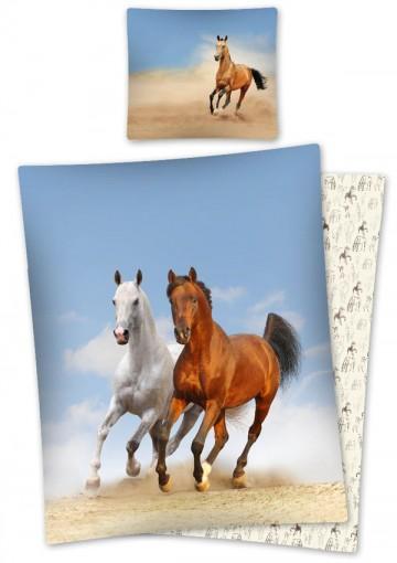 Povlečení Koně na pláži 140/200 cm