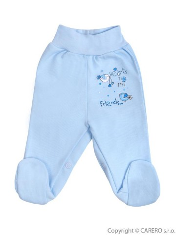 Dojčenské polodupačky Bobas Fashion Benjamin modré