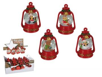 Vianočné snežítko lampáš