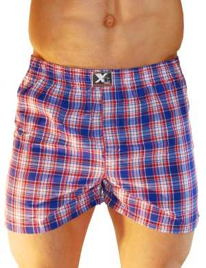 Pánské trenýrky Xtremen Shorts Boxer TH 07, Velikost oblečení XXL
