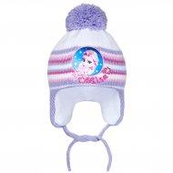 Zimní dětská čepička New Baby Lisa fialová