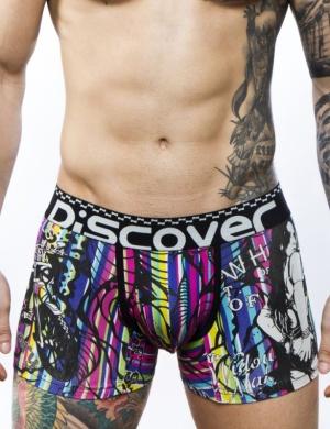 Pánské boxerky Discover Moto, Velikost oblečení M
