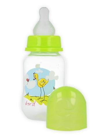 Fľaša s obrázkom Akuku 125 ml zelená
