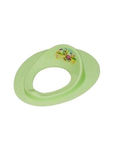 Dětské sedátko na WC  želva zelené