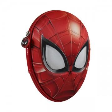 3D Dvoupatrový penál plný Spiderman