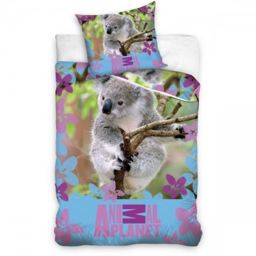 Ágyneműhuzat Animal Planet Koala 140/200, 70/90