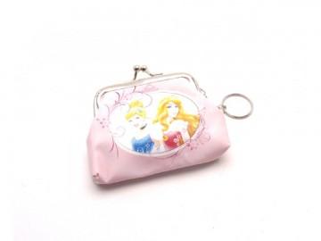 Dětská peněženka s kroužkem na klíče QE4925-1 Princezny