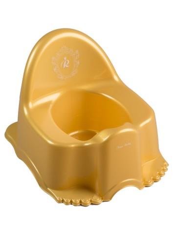 Dětský nočník Royal zlatý