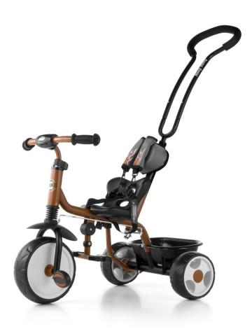 Dětská tříkolka se zvonkem Milly Mally Boby 2015 brown