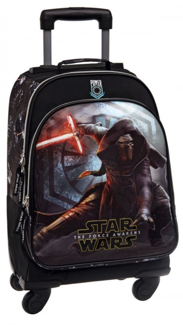 Batoh na kolečkách Star Wars VII Black 47 cm