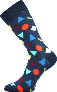 Ponožky Tvary - 1 pár, velikost 43-46