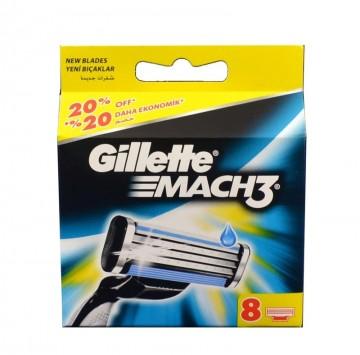 Gillette Mach3 Turbo 8 NH