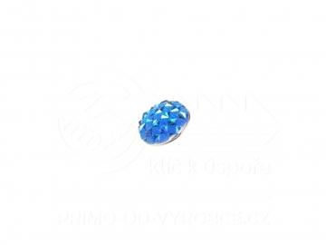 Ozdobný patent na náramek - Modrý
