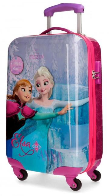 Cestovní kufr ABS Ledové Království Magic 55 cm
