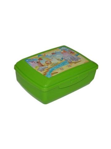 Chladící box na svačinu zelený Safari