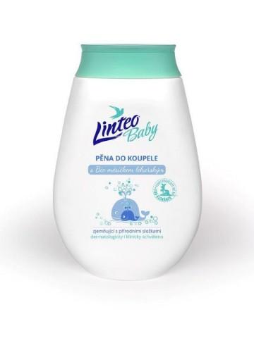 Dětská pěna do koupele Linteo Baby s měsíčkem lékařským