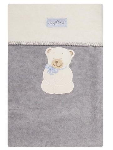 Detská deka Womar 75x100 sivá