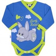 Dětské celorozepínací body New Baby Lovely Rabbit