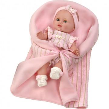 Luxusní dětská panenka-miminko Berbesa Sandra 35cm