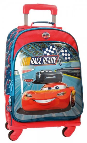 Batoh na kolečkách Cars Race 44 cm
