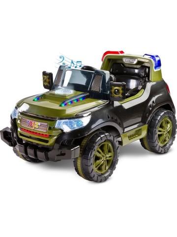 Elektrické autíčko Toyz Patrol - 2 motory green- Jungle