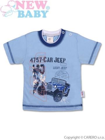 Detské tričko s krátkym rukávom New Baby Army Jeep