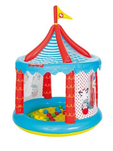 Dětský nafukovací cirkus Fisher-Price s míčky