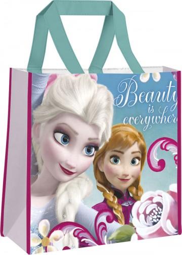 Dětská nákupní taška Ledové Království Beauty 38 cm