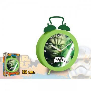 MAXI hodiny Star Wars Yoda 23 cm