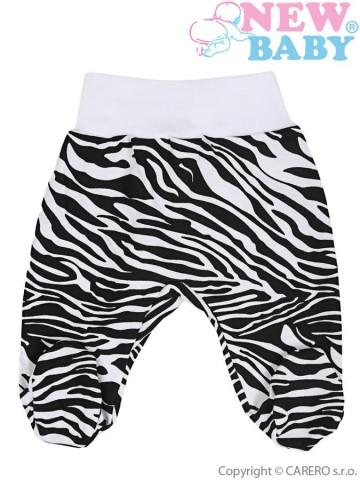 Dojčenské polodupačky New Baby Zebra