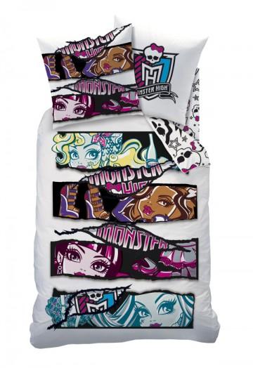 Povlečení Monster High White Velvet white 140/200, 60/80