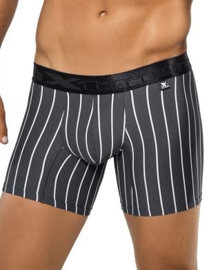 Pánské boxerky Xtremen Microfiber Boxer šedé, Velikost oblečení M