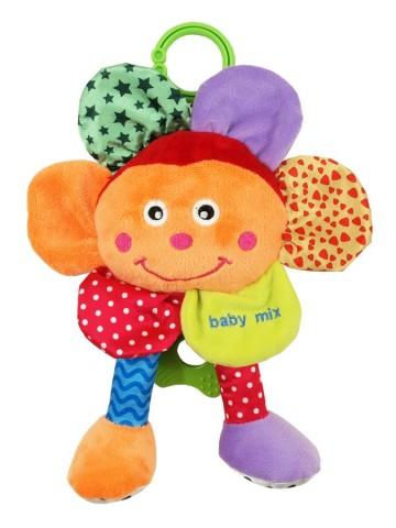 Plyšová hračka se zvukem Baby Mix Květinka