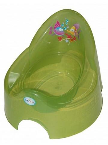 Dětský nočník Aqua zelený