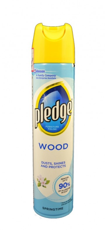 Pledge Wood 5in1 Springtime, 250ml