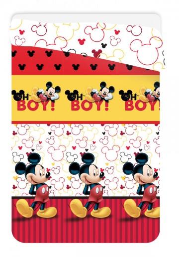 Letní prošívaná deka Mickey 180/260 cm