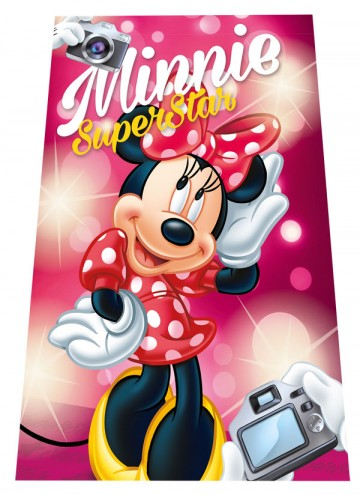Micropolar fleece deka Minnie SuperStar 100/150