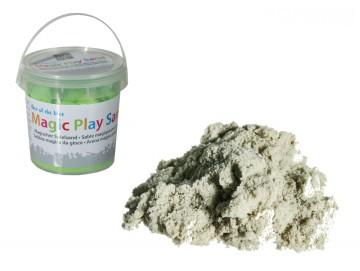 Nisip magic - găletușă 1kg - verde