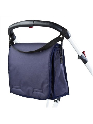 Taška na kočárek s přebalovací podložkou CARETERO navy