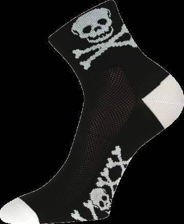 Ponožky - Lebka - velikost 43-46