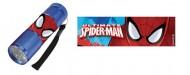 Dětská hliníková LED baterka Spiderman Ultimate