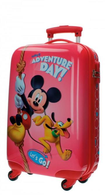 Cestovní kufr ABS Mickey Adventure day 55 cm